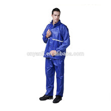 hot sell new style pvc material foldable male rain pants suit