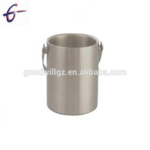 1.0L Stainless Steel Double Walled Wine Beer Cooler Bottle Ice Bucket