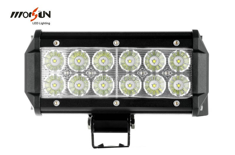 Morsun led work light 7 led light bar for offrad 4x4 led light morsun led work light 7 led light bar for offrad 4x4 led light bar 36w mozeypictures Images