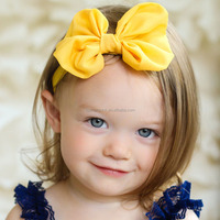 Baby Girl Headband Infant Toddler Bowknot Elastic Band Headwear baby hair accessories