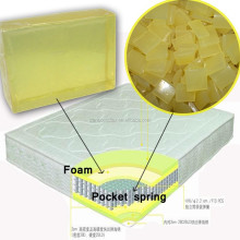 High quality hot melt glue <strong>adhesive</strong> for pock spring mattress foam mattress and sofa foam