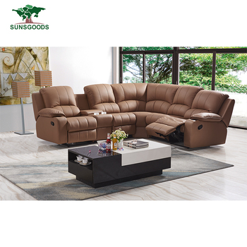 Top Quality Living Room Furnitures Leather Corner Recliner Sofa Cum  Bed,Chinese Manufacturer Recliner Corner Sofa, View chinese manufacturer  recliner ...