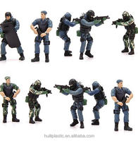 oem pvc soldier figure, 6inch plastic soldier model toys, collection making pvc figure for promotion