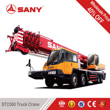 SANY STC500 50 Tons Used Mobile Cranes of 2010 Year Second Hand Truck Crane