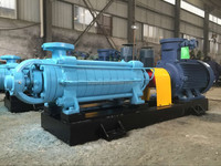 Coal mine horizontal sectional multistage centrifugal pump