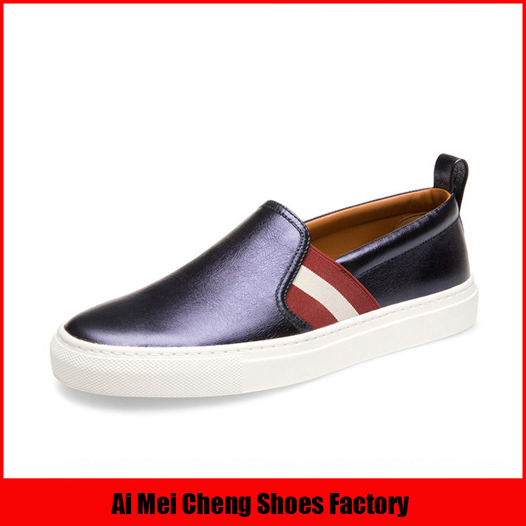 New Mould Leather Italian Nude Wholesale Fashion Women Flat Casual Shoes