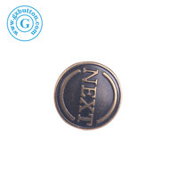 Popular decorative metal press snap on buttons for jackets clothes