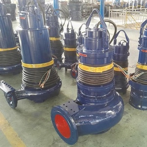 Submersible centrifugal water pump