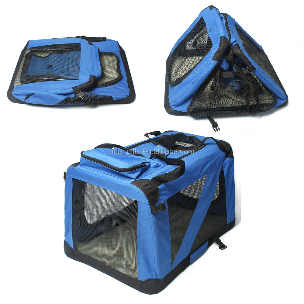 Pet Soft Crate Foldable travel Pet Carrier Foldable Dog cat Carrier