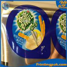 plastic cup sealing roll film/ laminating cup lip rolls