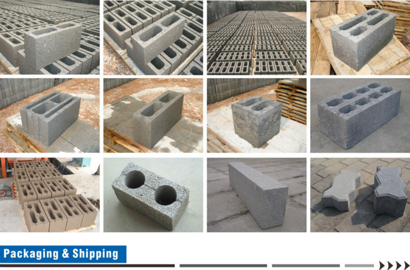 Electric new technology block making machine Supplier HYM- QT6-15 Cement block plant on sale