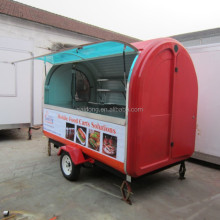 Mobile best price coffee cart trailers/food trailer/street food vending carts