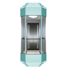 March Expo Comfortable observational glass passenger elevator observation lifting lift supplier