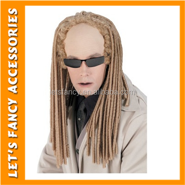 PGWG1195 High Quality The Matrix The Evil Twins Cosplay Wigs Men Halloween Party Wig