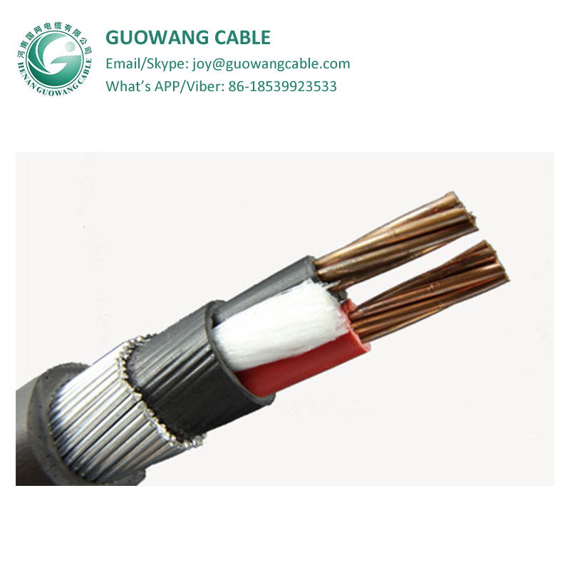 0.6/1kv 1, 2, 3, 4, 5, 3+1, 3+2, 4+1Cores Stranded Copper Conductor XLPE Insulation PVC Sheathed Steel Wire Armoured Power Cable