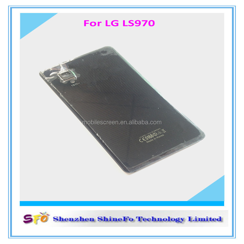 Top Sell Housing Battery Back Cover Door Replacement For LG Optimus G E975(E975), For LG E975 Back Cover