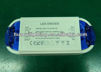 AC 110V/230V Input triac dimmable driver led power supply with high quality