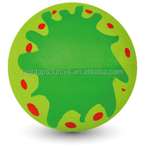 inflatable rubber basketball photo printed basketball facilities equipment basketball