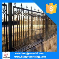 Colorful Double Anti-Corrosion Wooden Picket Fence ( BV Certified Factory )