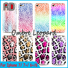 2017 Fashion Leopard 3d Printing TPU Soft Phone Case Cover for Apple iphone 7 7plus 6s 5 samsung s7 s6 s7 s8