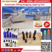 Automatic 5ml/10ml/20ml bottle e-liquid/essential oil/ e-cigarette filling capping machine