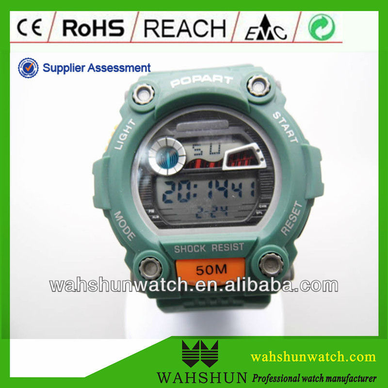electronic/electric watch for swimming