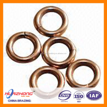 Phos-copper brazing alloys ring welding ring BCuP-2 brazing filler metal