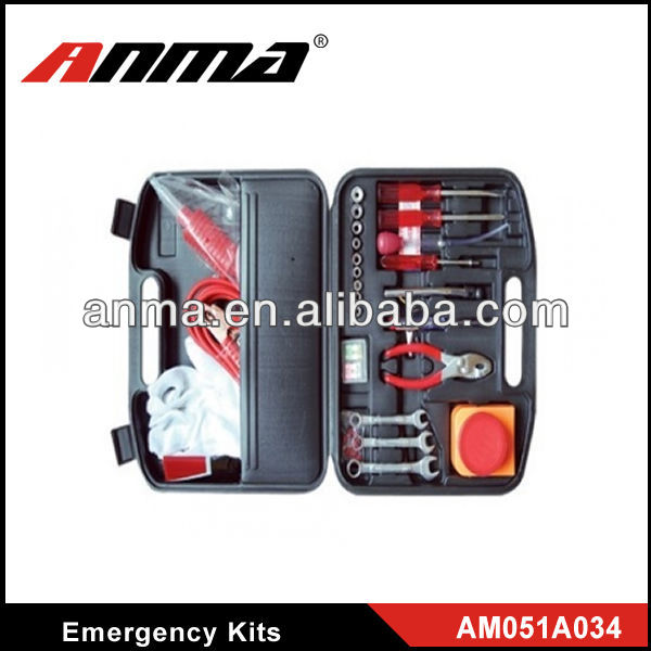 Automobiles car emergency tools kits