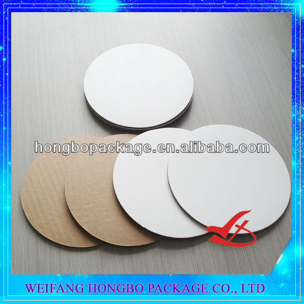 plain waxed cake pads& circles/pizza cardboard