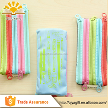 eco-friendly products wholesale custom printed fancy rainbow zipper eva pencil case storage bag for school