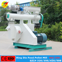 Small scale poultry feed pellet mill machine for livestock