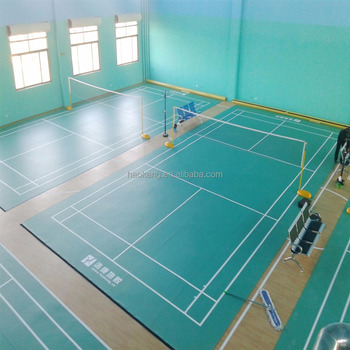 Industry Leading Manufacturer of Professional Indoor Badminton Court Mat
