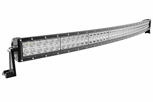 50 inch led driving light bar, auto led light arch bent, 288w curved led light bar