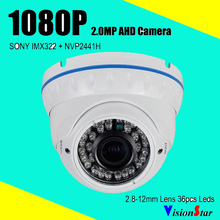 VisionStar 1080P High definition 2.0MP Mega pixel Analog cctv Dome camera video security system