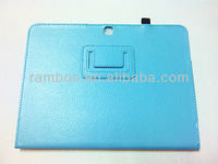 Fashion PU leather tablet folio case for samsung galaxy tab 3 10.1
