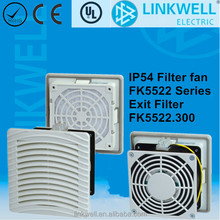 filter fan Used To Provide An Optimum Climate In Enclosures, cabinnet fan filter
