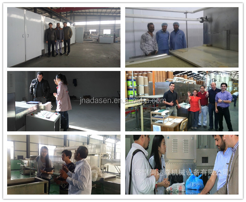 China supplier microwave drying machine for parboiled rice