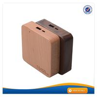 AWC911 2016 new wood design online power bank gift set power bank for blackberry q10