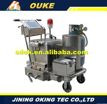 OKGF-50 crack injection packer,bottle fill and seal machine