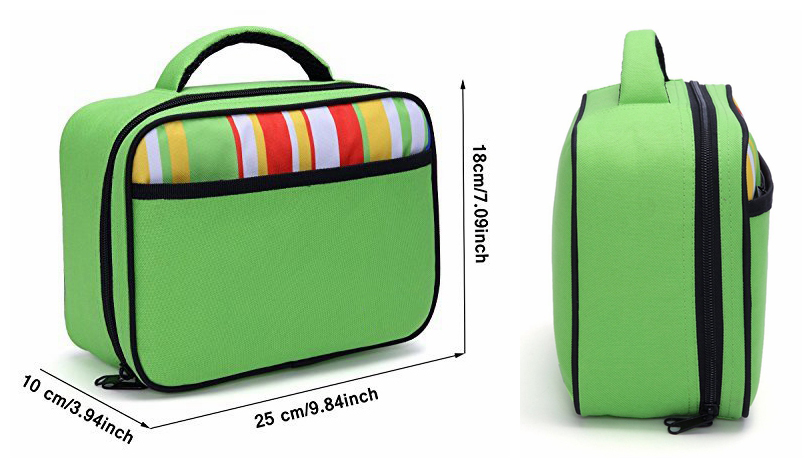2017 new product multi-compartment lunch bags for kids Fit in Backpack