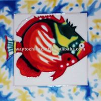 Glazed decorative Art Tile