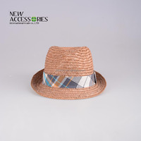 woven band 100% paper straw hats