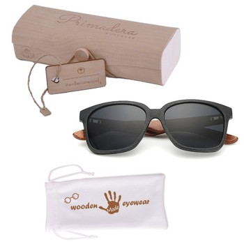 [wholesale] ZL156 Custom Your Logo Walnut Wooden Temple uv400 Mirror Sunglasses