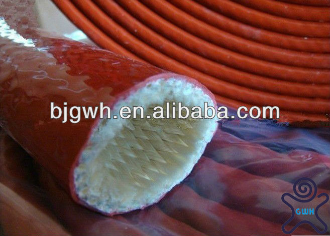 2013 HOT selling silicone coated fiberglass sleeving