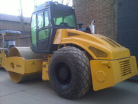 Medium Heavy Duty Single Drum Vibration 10 Ton Road Roller Compactor LSS1001 For Compacting Road