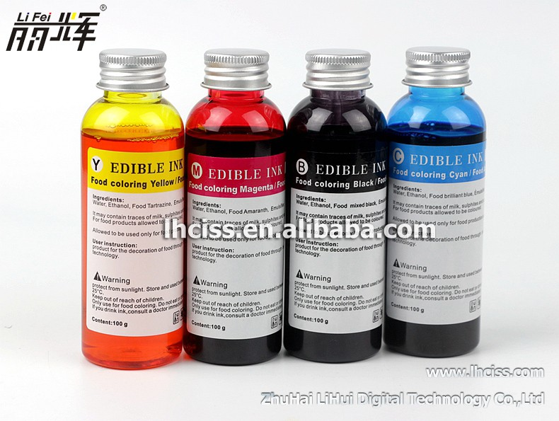 Wholesale Edible ink for EPSON series food photo printer - Alibaba.com