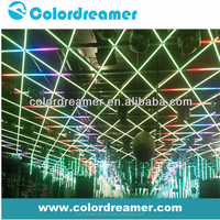 High technology dmx al bar Madrix control best price 60pcs led RGB 1/2/4/5/10/20 pixel SMD LED 10W dmx al bar led light