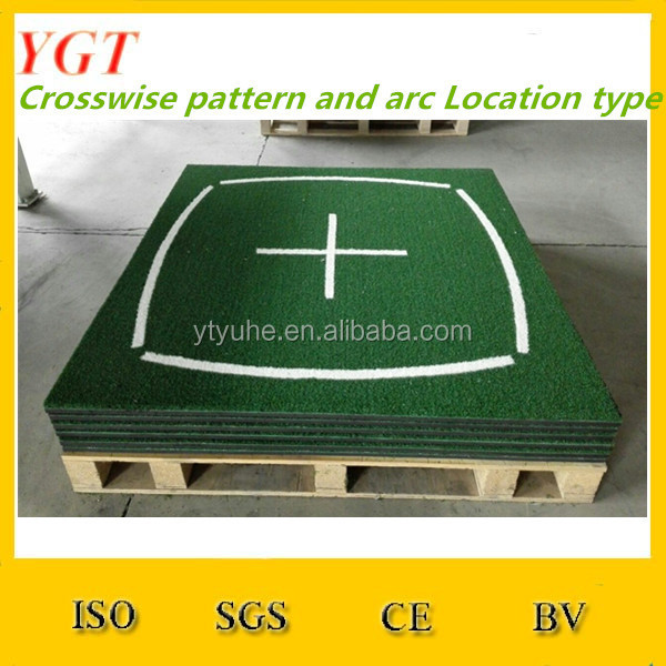 5'x5' Pro Residential Practice Golf Mat With Foam Pad