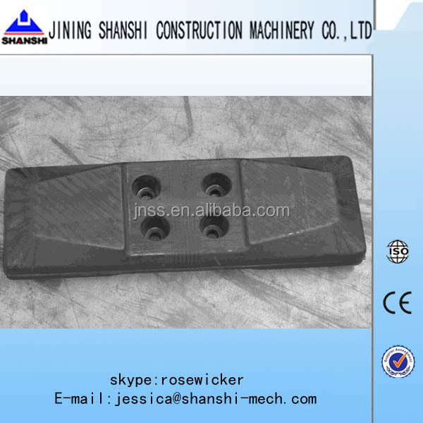 "20"" Excavator rubber track pads Chain on Pads 500mm CT500 fit for PC120 PC128 PC138 rubber slipper"
