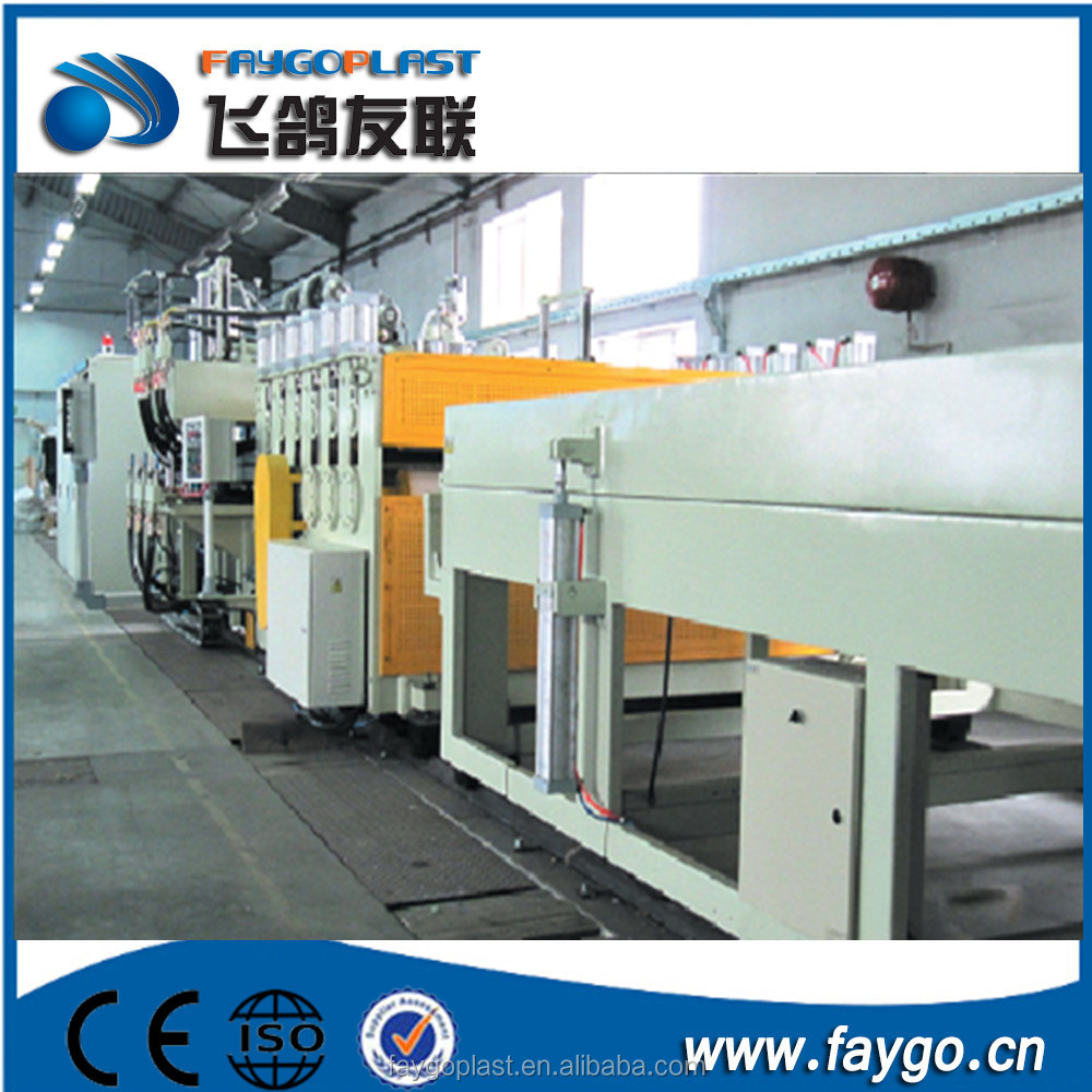 Zhangjiagang professional manufacturer of the PC/PP/PE hollow profile board extrusion line